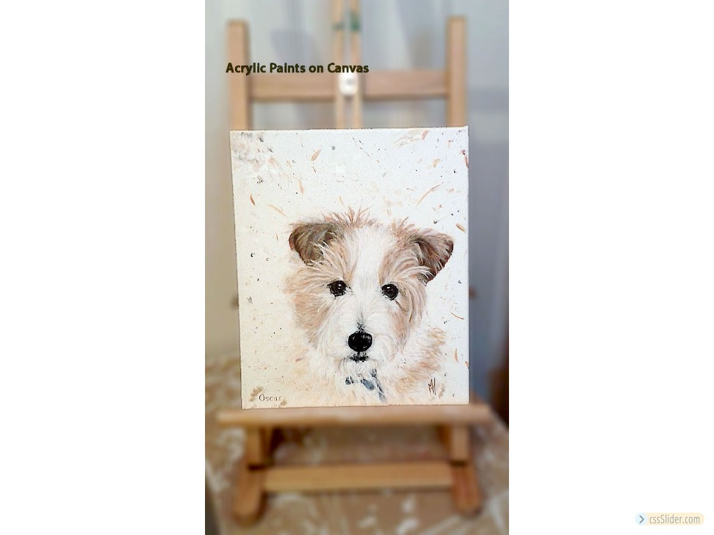 Your Pet On Canvas