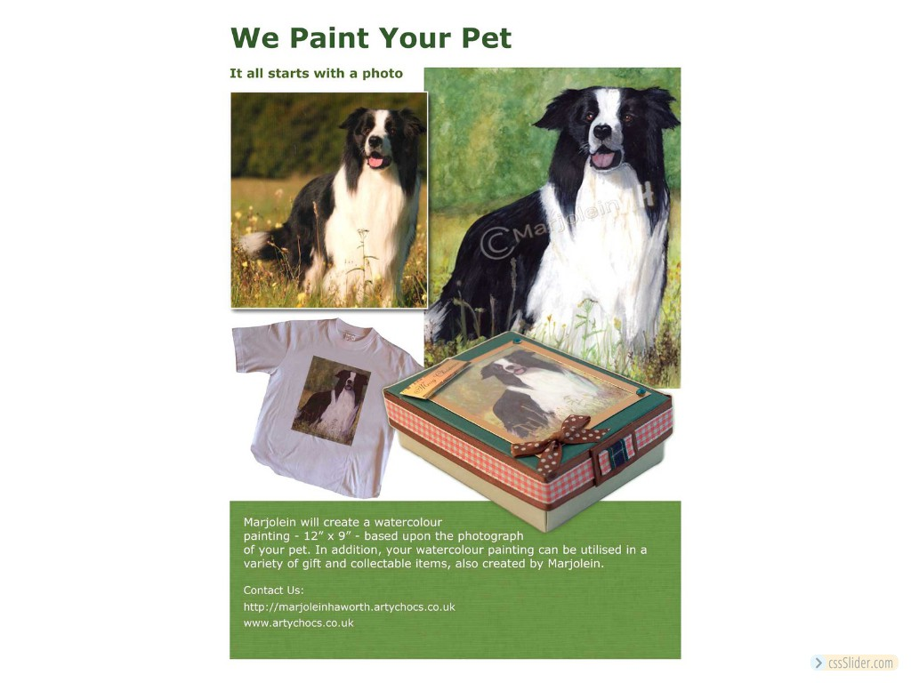 We Paint Your Pet